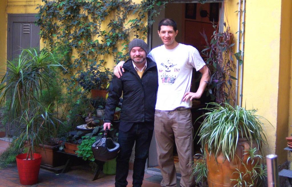 Я в Риме с каучсерфером Микеле!