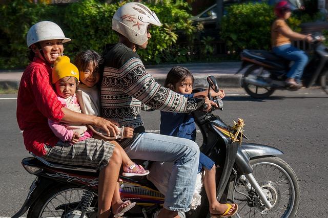 Мопед на Бали