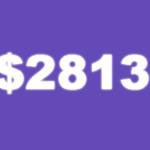 Отчет по целям на март, 2015 – $2813.10