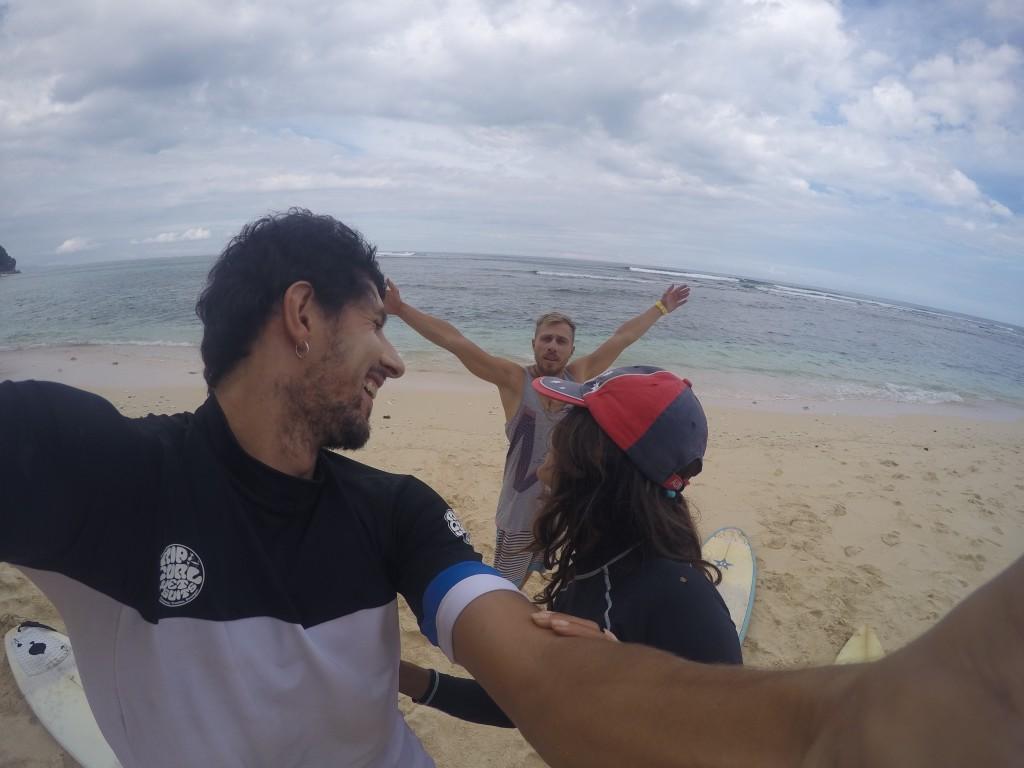 Серфинг школа на Бали