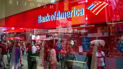 Cчет в Bank of America