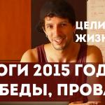 Цель постановка – подведем итоги 2015 | Цель деятельности