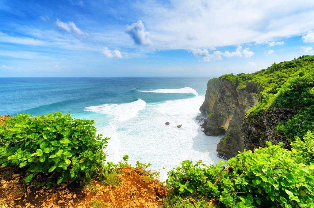 Uluwatu, самый юг острова Бали