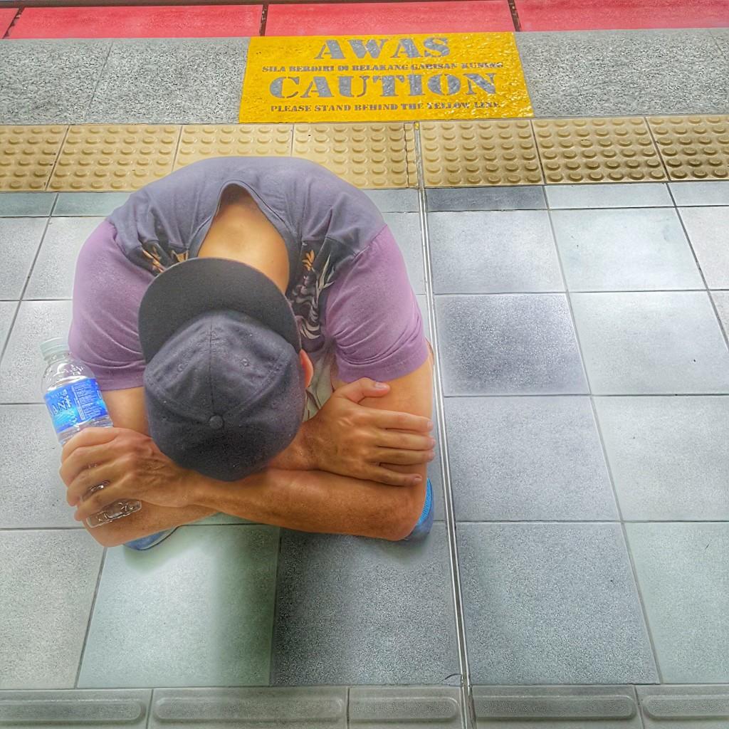 Устал в Малайзии