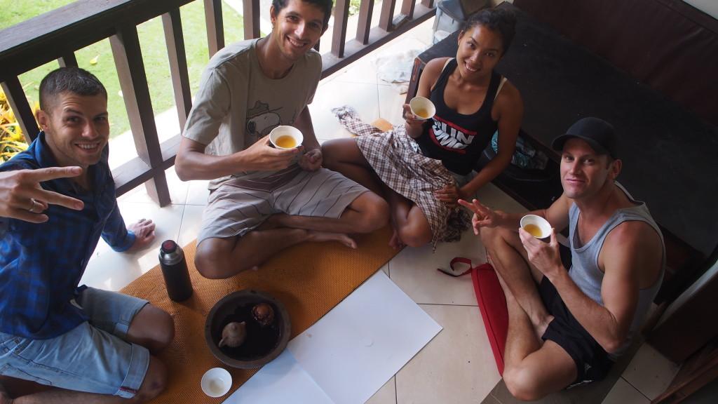 Чай на моем балкончике, о. Бали