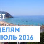 Цели на год – Отчет по целям на июль 2016