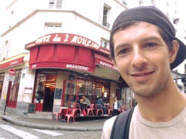 В кафе, где работала Амели