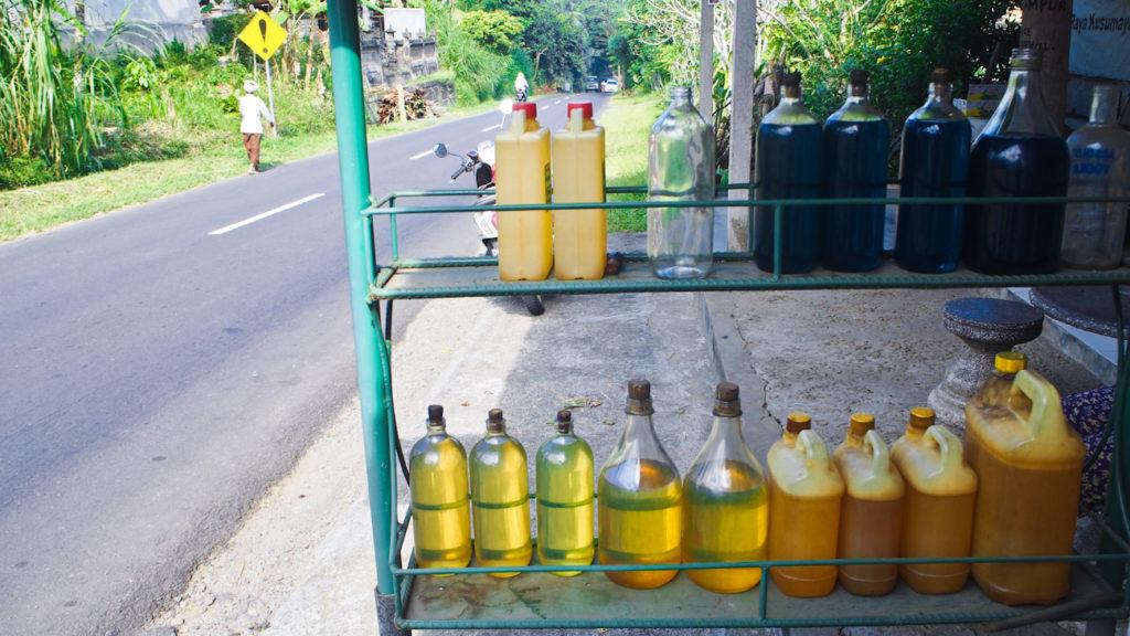 Бензин на острове